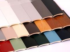 Rollladenprofilfarben